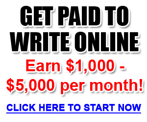 paid writing jobs