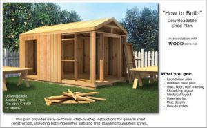 12x20 shed material list